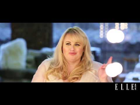 Playing word games with Rebel Wilson