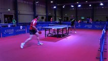 Hugo Calderano & Simon Gauzy Training | Liebherr 2019 World Table Tennis Championships