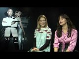 Léa Seydoux and Monica Bellucci Spectre Interviews