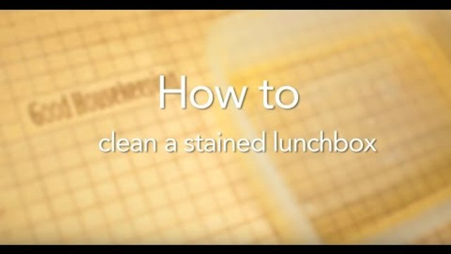 How To Clean Plastic Lunch Boxes | Good Housekeeping UK