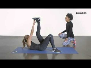 Bootcamp for your abs   Women's Health x Slendertone