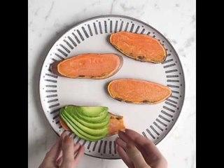 Sweet Potato Toast 4 Ways by Madeleine Shaw