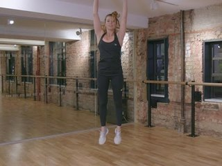 5 minute Fit Body Plan Fitness Challenge: Week 7, Burpees