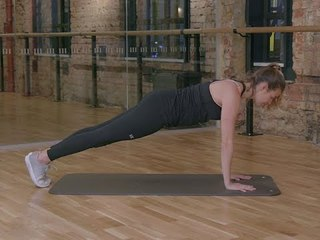 5 minute Fit Body Plan Fitness Challenge: Week 4, Planks