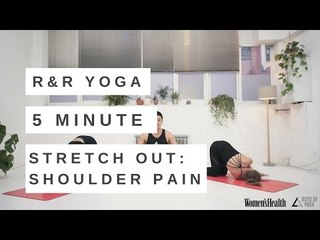 YOGA FOR SHOULDER PAIN VIDEO   5 MINUTE REST & RECOVERY FLOW