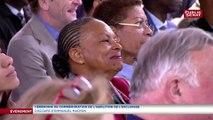 Christiane Taubira sera présidente du comité de soutien de la Fondation pour la mémoire de l'esclavage, annonce Emmanuel Macron