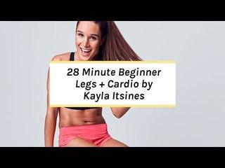 Kayla Itsines Workout | No Kit Lower Body Beginner Session