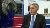 Hammond: UK economy 'robust' despite Brexit uncertainty