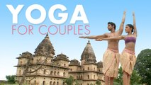 Easy Yoga For Couples   Arms Workout   Couple Yoga Poses For Partners   Yogasan