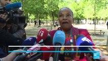 Christiane Taubira s'exprime à l'occasion de la Journée nationale de l'abolition de l'esclavage