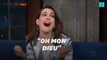 Anne Hathaway très émue par sa rencontre avec Ru Paul