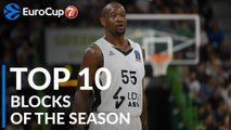 2018-19 7DAYS EuroCup: Top 10 Blocks!