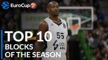 2018-19 7DAYS EuroCup: Top 10 Blocks!