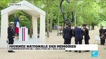 Plusieurs initiatives prévues pour la mémoire de l'esclavage selon Emmanuel Macron