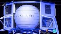 Amazon's Bezos unveils moon lander