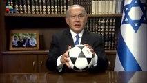 Netanyahu cite Ronaldo pour inciter les Iraniens à la révolution