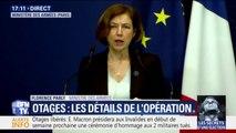 """""""C'est un véritable exploit"""", Florence Parly salue l'opération militaire qui a permis la libération d'otages français au Burkina Faso"""