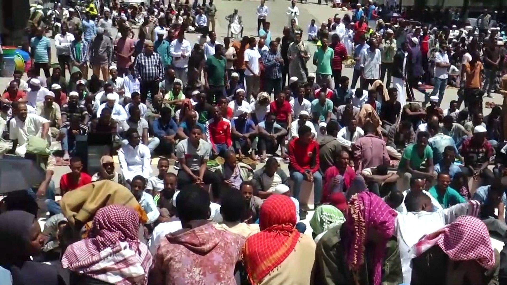 Etiyopya'da ramazan ayının ilk cuma namazı kılındı - ADDİS ABABA