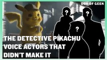 The Detective Pikachu Voice Actors That Didn't Make The Final Cut