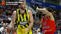 Fenerbahce big men rolling and dunking vs. CSKA