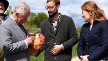 Prince Charles and Camilla visit organic farm during Germany visit