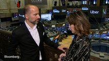 Khosrowshahi Says Investors Who Bet on Uber Long Term Will Be Happy
