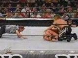Austin vs. Benoit vs. Jericho, WWE KOTR 2001, Part 2.