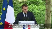 Macron commémore l'abolition de l'esclavage