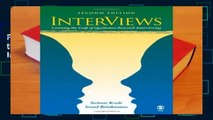 Full E-book InterViews: Learning the Craft of Qualitative Research Interviewing  For Trial