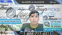 Portland Trail Blazers vs Denver Nuggets 5/12/2019 NBA Picks Predictions Previews