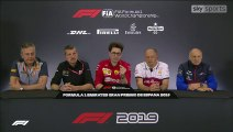F1 2019 Spanish GP - Friday (Team Principals) Press Conference