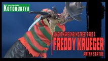 A Nightmare on Elm Street 4 Freddy Krueger | Kotobukiya ArtFX Statue Review!