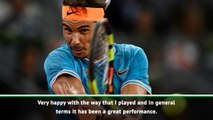 Nadal happy with 'best performance'