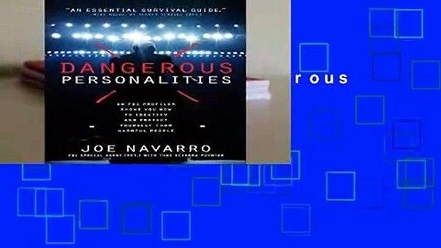 Full E-book  Dangerous Personalities  For Kindle
