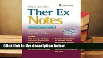 Review  Therapeutic Exercise Notes - Carolyn Kisner
