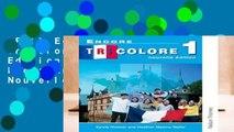 Full E-book  Encore Tricolore 1 Nouvelle Edition Evaluation Pack: Encore Tricolore Nouvelle 1
