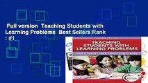 Full version  Teaching Students with Learning Problems  Best Sellers Rank : #1