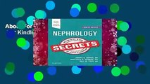 About For Books  Nephrology Secrets, 4e  For Kindle