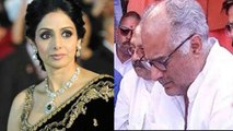 Boney Kapoor CRIES for Sridevi's Mom; Here's Why | FilmiBeat