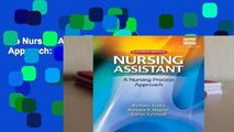 Hb Nursing Assistant: A Nursing Process Approach: A Nursing Process Approach