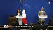 Les deux touristes Patrick Picque et Laurent Lassimouillas ont été libérés par l'armée française