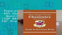 Popular to Favorit  KS3 Chemistry Study   Question Book - Higher (CGP KS3 Science) by CGP Books