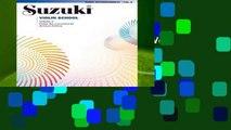 Full E-book  Suzuki Violin School, Vol 6: Piano Acc.  Best Sellers Rank : #3