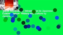 [NEW RELEASES]  Introduction to Japanese Cuisine: Nature, History and Culture by Japanese