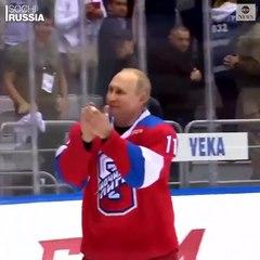 Hockey : La chute de Vladimir Poutine