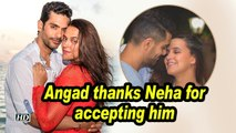 Angad thanks Neha for accepting him on their ANNIVERSARY