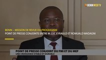 Bénin : point de presse conjointe entre M. Luc Eyrauld et Romuald Wadagni