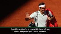 """Interivew - Federer : """"Je reviendrai peut-être... en touriste"""""""
