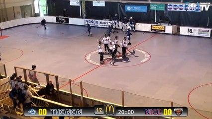 Roller Hockey - Nationale 3 - 1er Tour de PlayOff - Les Cerfs du Chablais VS les Nounours de Nice