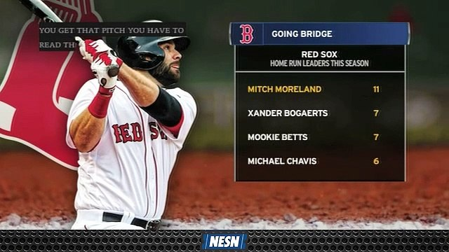 Mitch Moreland Leads Red Sox In Home Runs To Start 2019